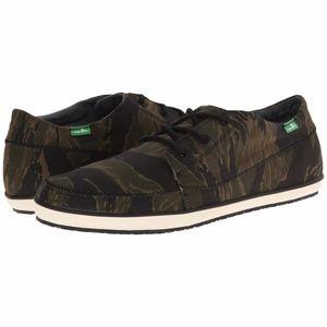 Sanuk Men's Camo Surfer Shoes 8.5